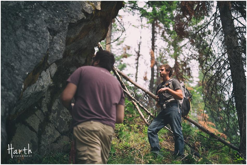 Rock Climber - Harth Photography