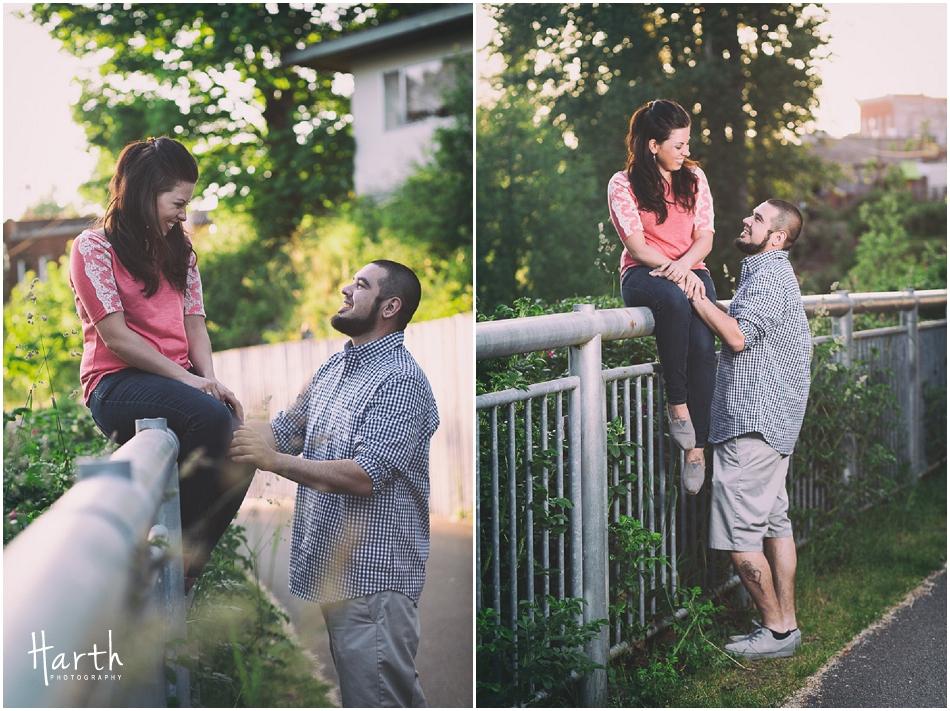 Snohomish Engagement | Harth Photography