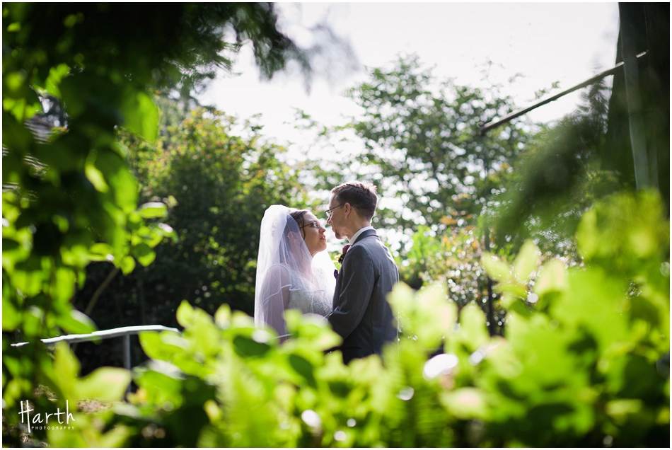 Wedding Bride & Groom - Floral Hall