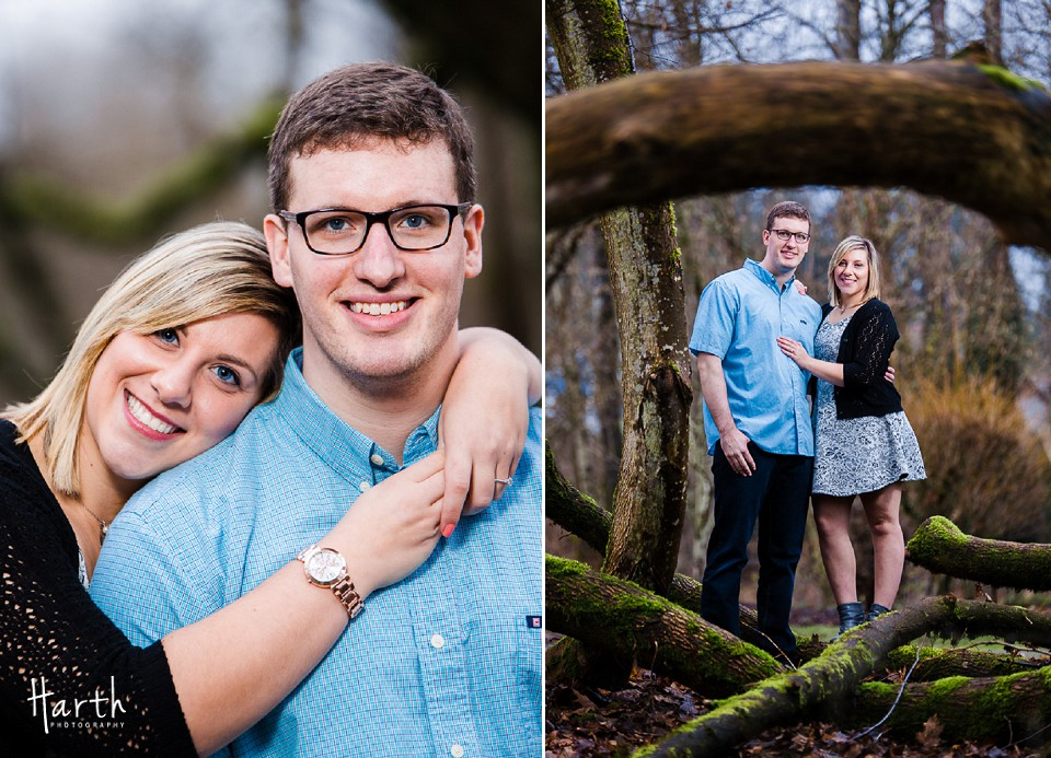 Bothell Landing Engagement Couple