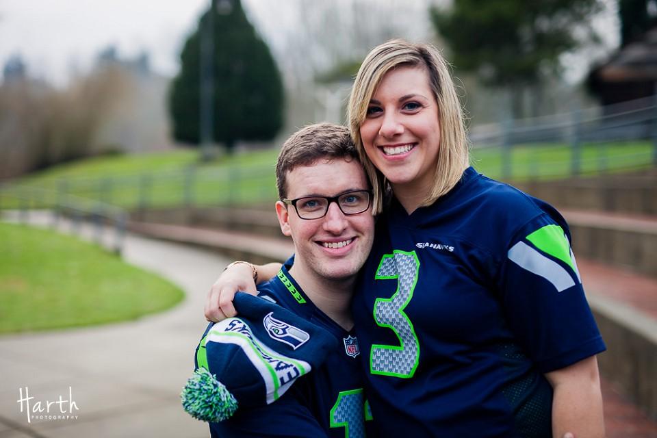 Bothell WA Seahawks Engagement