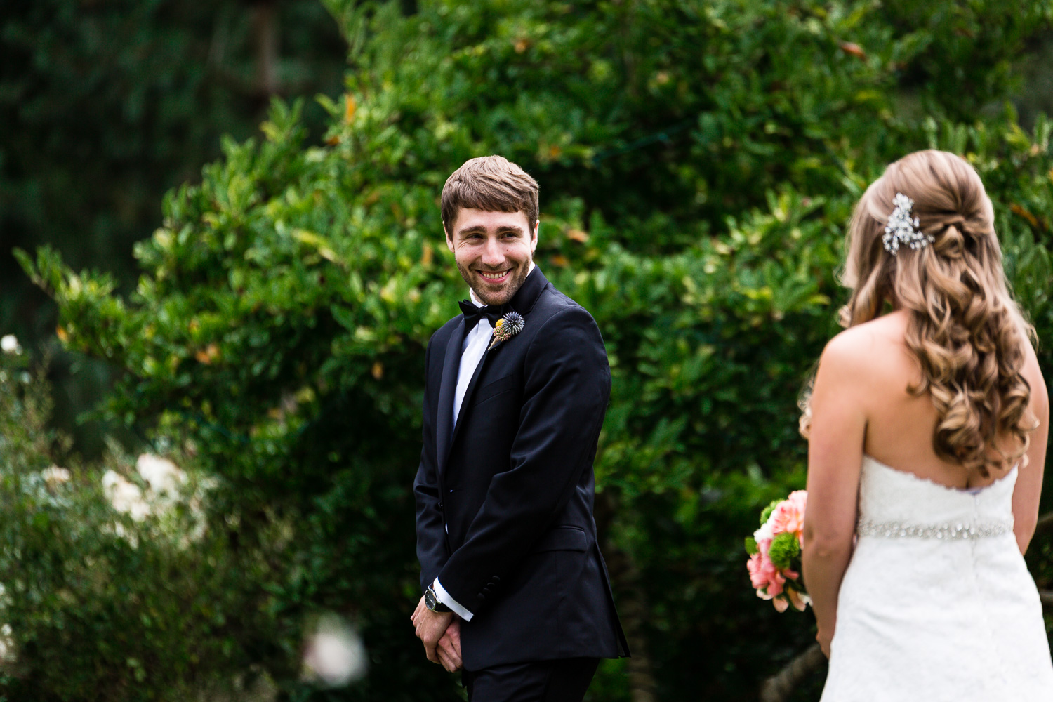 Groom See Bride For The First Time