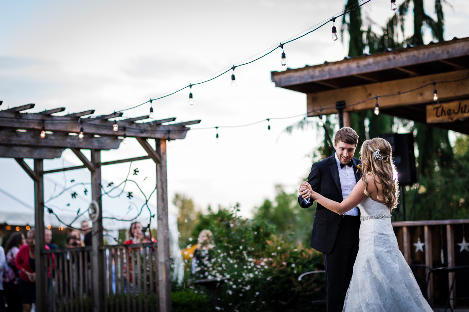 First Dance - Twin Willow Gardens - Snohomish