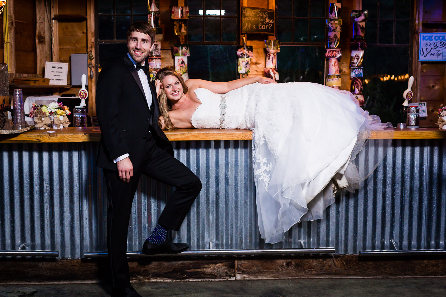 Married at the bar - Snohomish Wedding