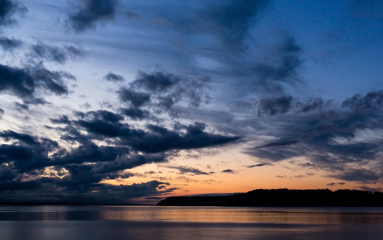 Picnic Point Beach Sunset