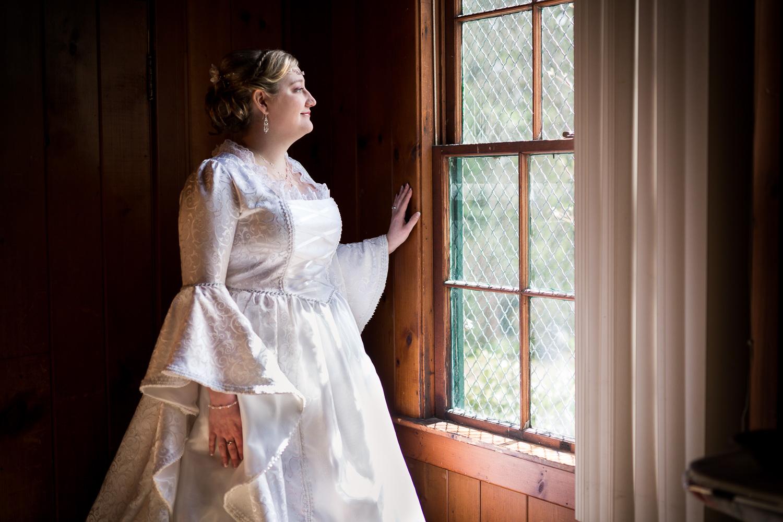 Renaissance Themed Wedding Bride