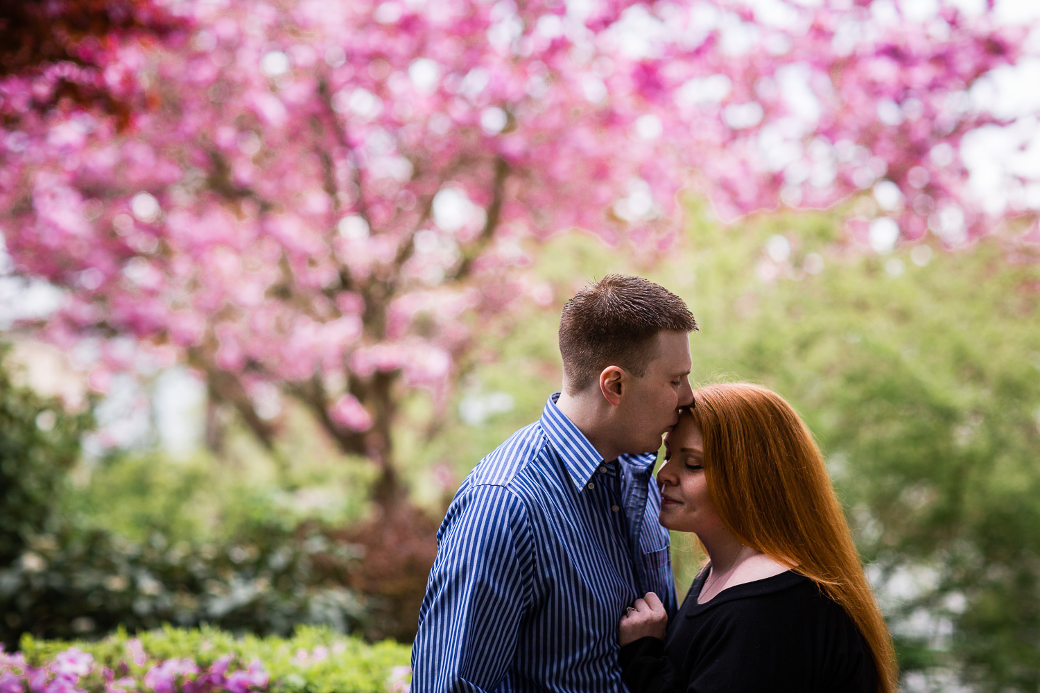 Downtown Snohomish Spring Engagement
