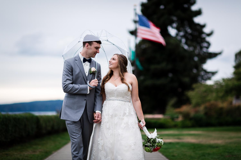 Everett Navy Wedding Photography