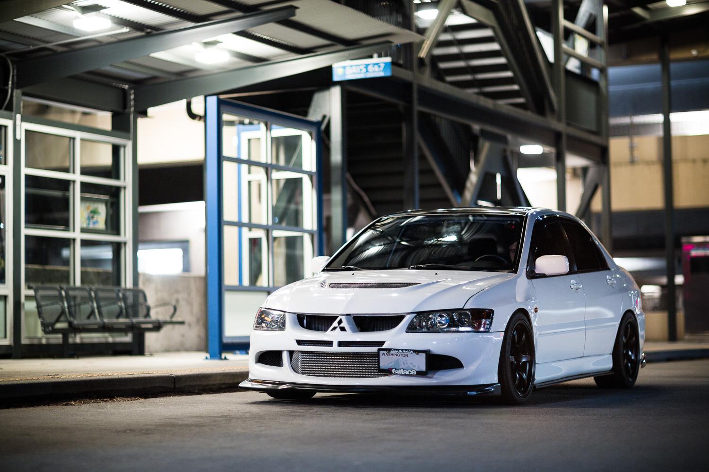 Seattle Mitsubishi Evo Car Photography