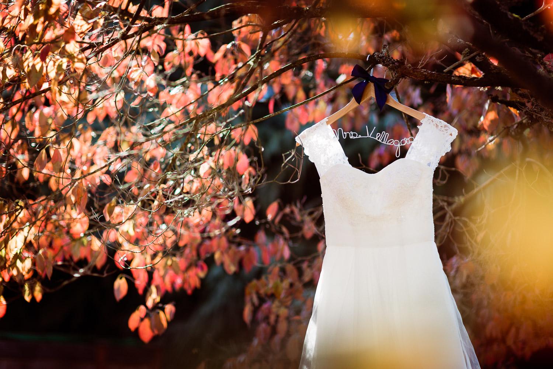 Portland Fall Wedding Dress