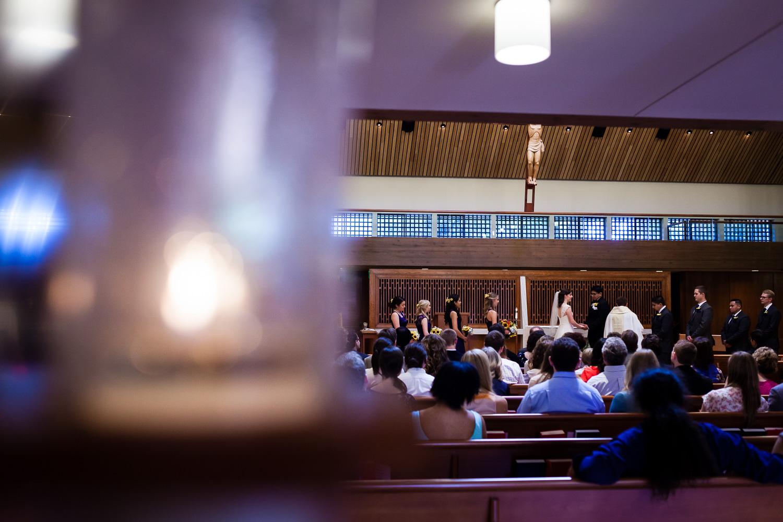 Chapel of Christ the Teacher Wedding