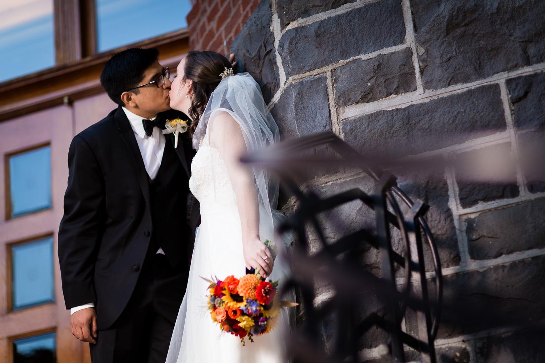 Waldschmidt Hall Entrance Kiss