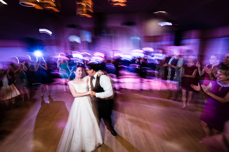 Bride and Groom Columbia Edgewater Wedding