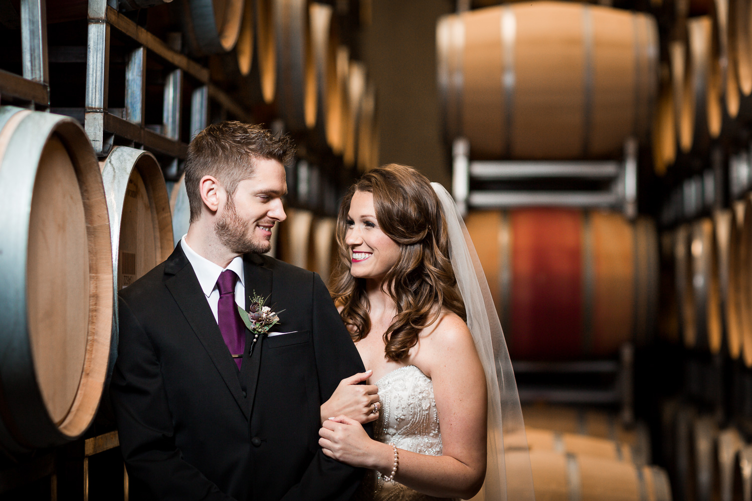 Wedding at Woodinville Winery