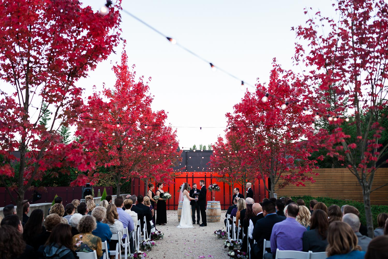 Novelty Hill Januik Wedding Ceremony