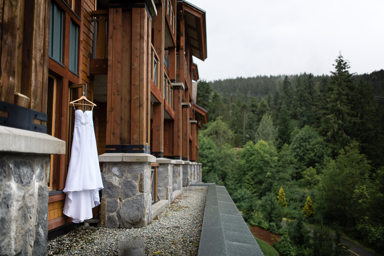Nita Lake Lodge Wedding Dress