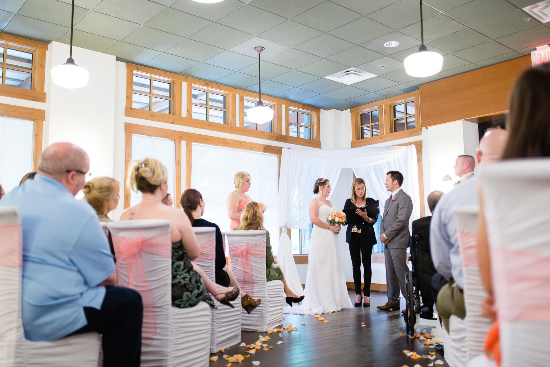 Nita Lake Lodge Wedding Ceremony