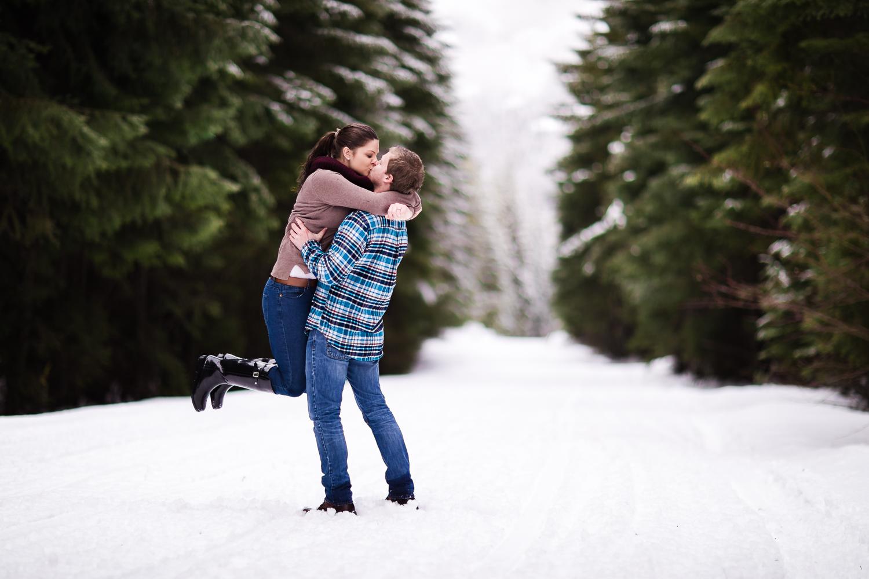 Washington Winter Wedding Photographer