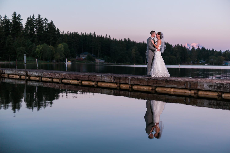 Yelm Sunset Wedding