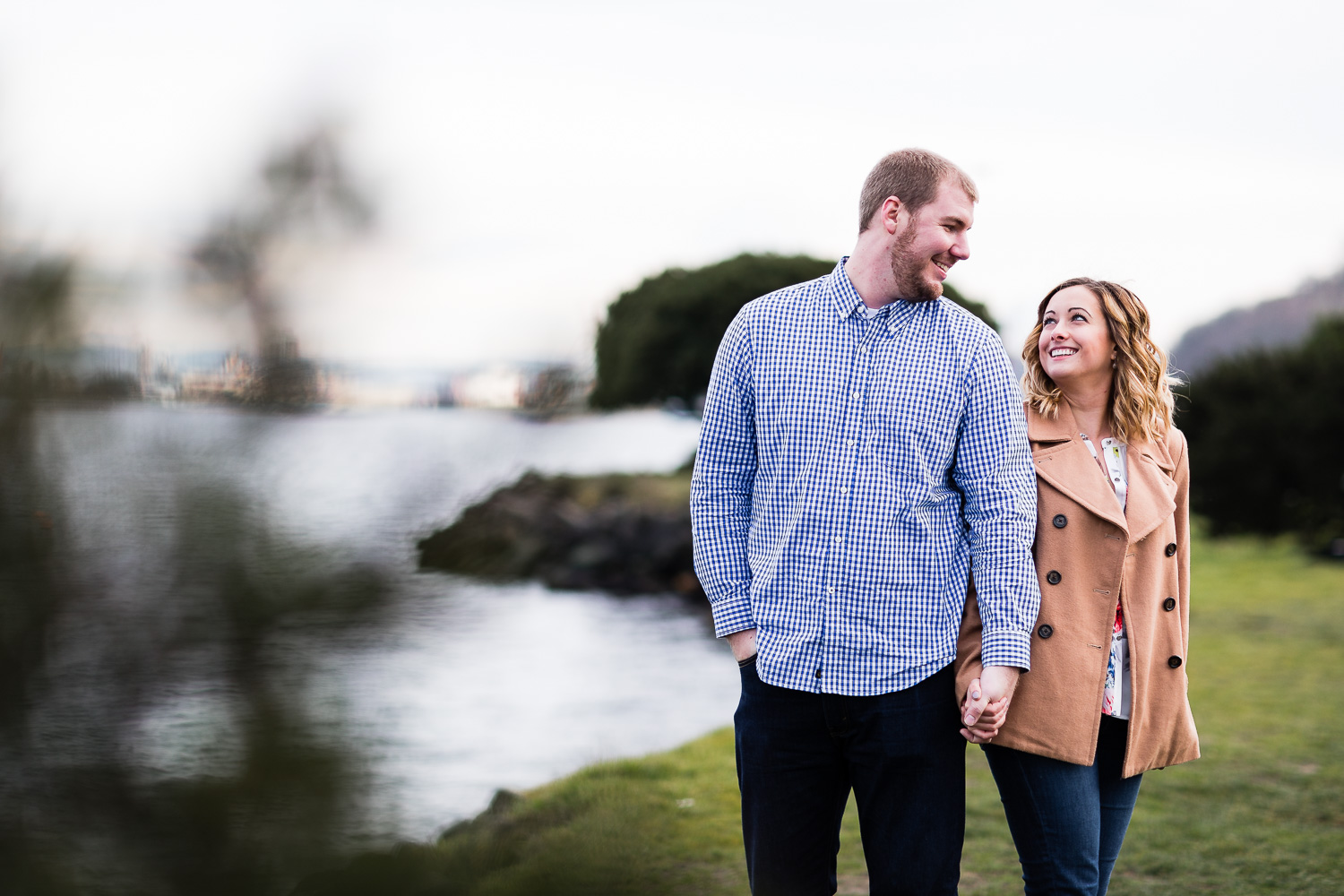 Alki Beach Engagement