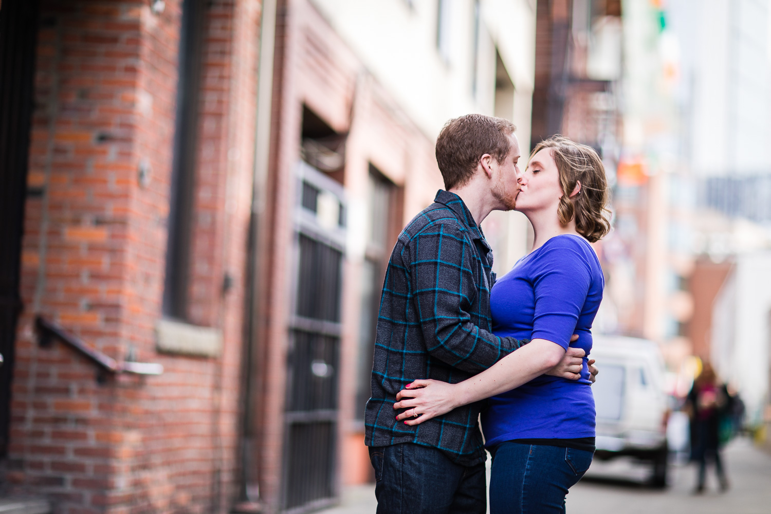 Downtown Seattle Engagement Photographer