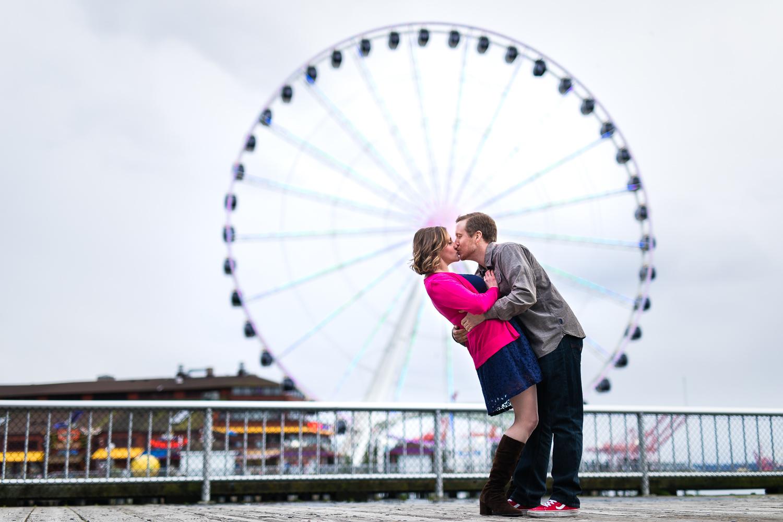Seattle Ferris Wheel Waterfront