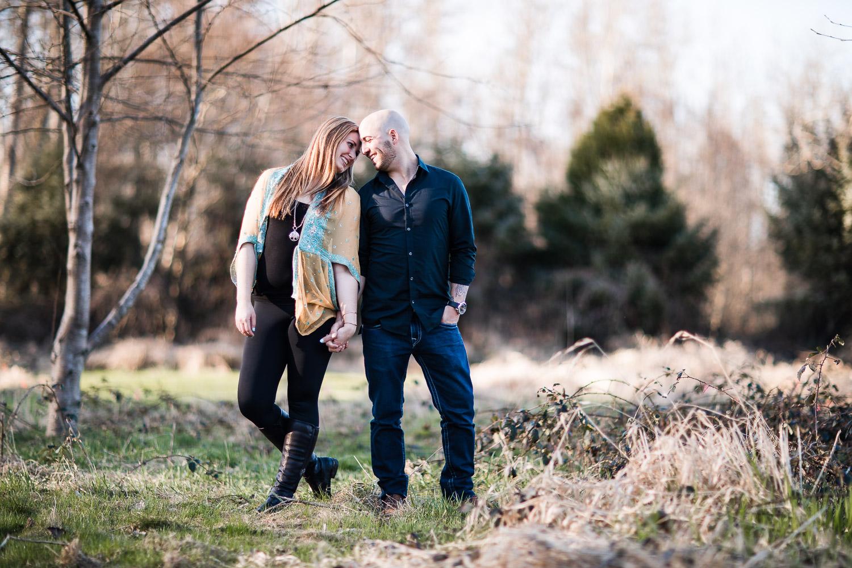 Twin Rivers Park Engagement Photographer