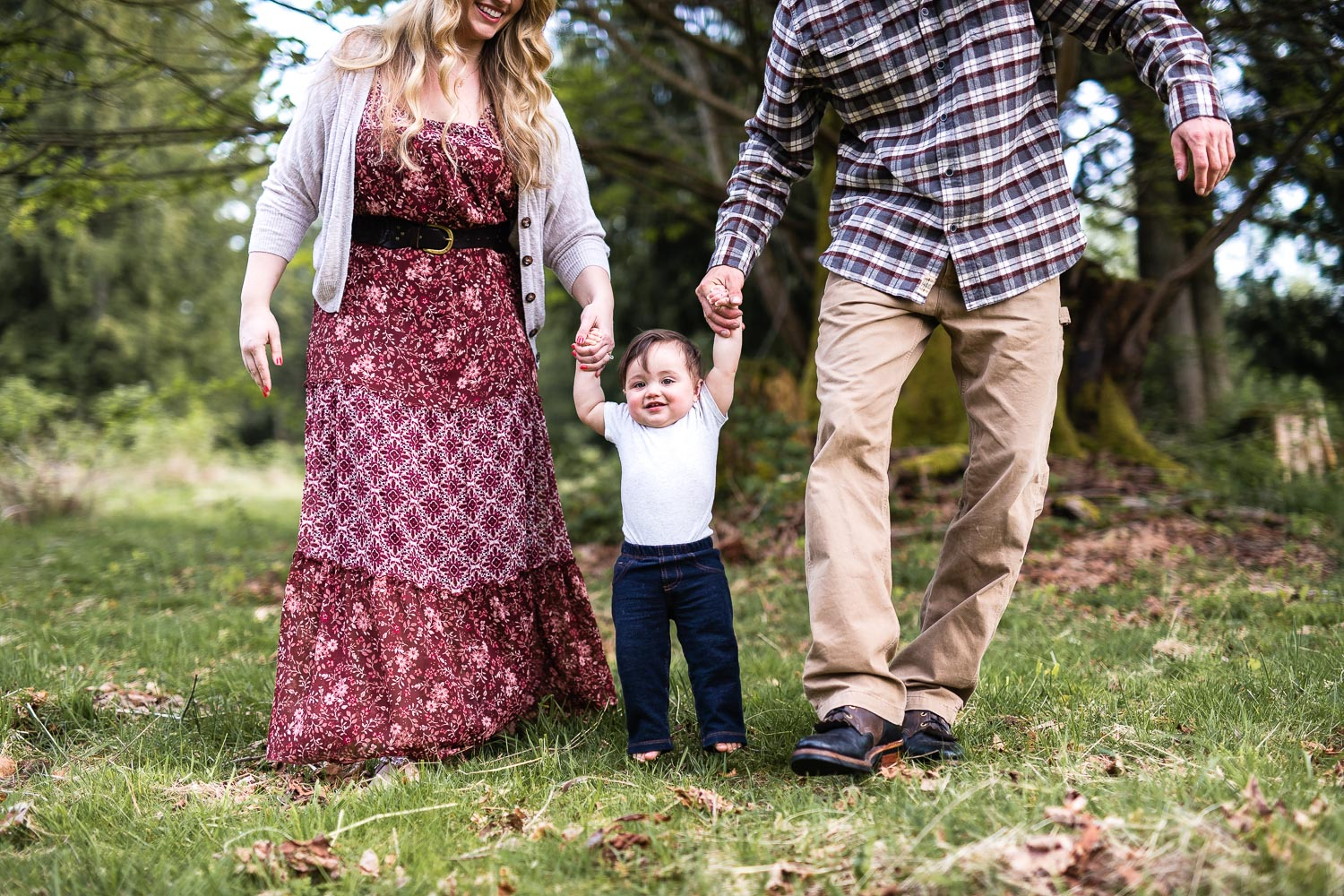 backyard country style family photos