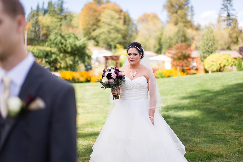 Wedding Photographer First Look