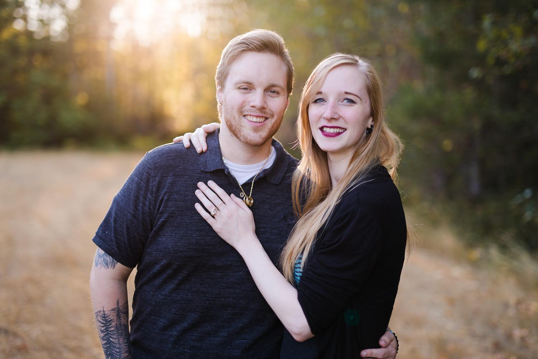 Engagement Photography Couple Portrait