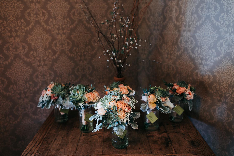 Rustic Wedding Bouquet Flowers