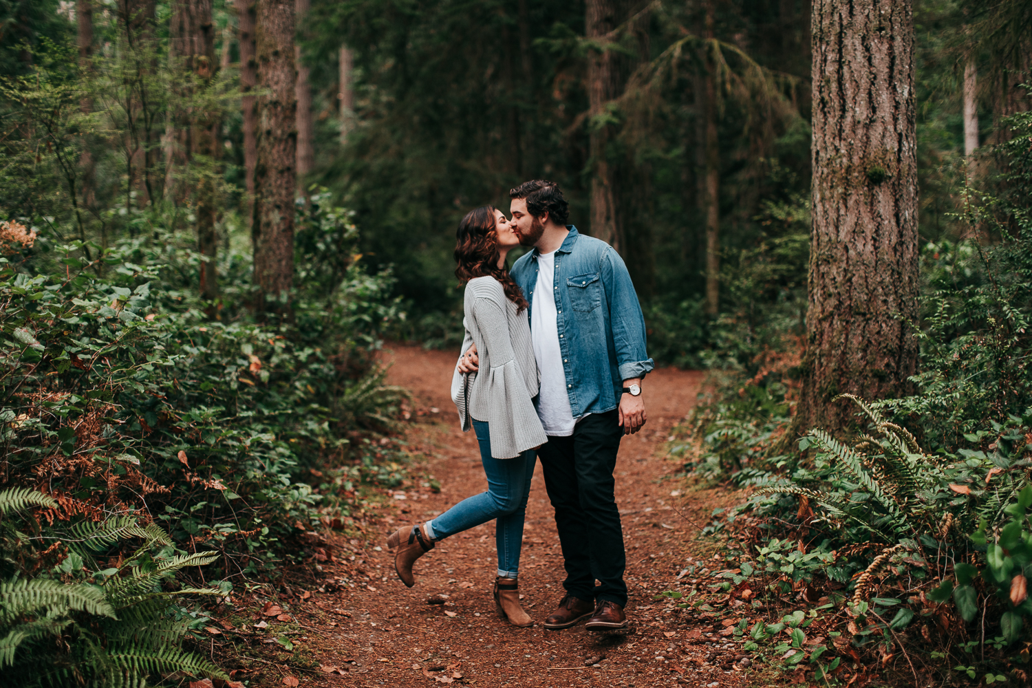 Adventure Engagement Session Photography