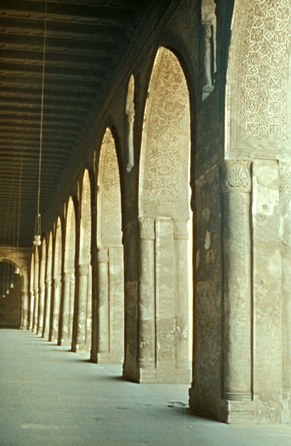 Another closer view of the archways. (Photo from archnet.org)