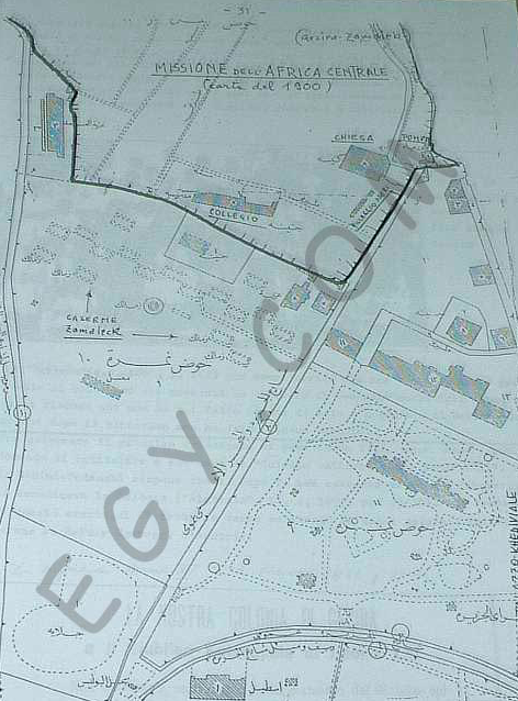 Map from the Combonis. Taken from Samir Raafat's Cairo History Page:http://www.egy.com/maps/