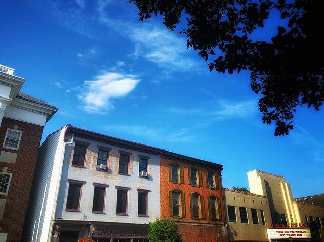 Capra and Rockwell's High Street.  #suburbia #smalltown #americana