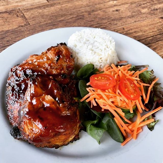 Roasted Chicken with Guava Barbecue 🔥👌🏻 . . . #Chicken #Guava #LOVESOFRITO . . . #deliciousfood #disneyworld #eatlocal #eatingfortheinsta #foodie #foodstagram #fresh #homemadefood #hungry #instagood #instafoodie #latinfood #mmm #nomnomnom #orlando #tasty #yummyfood