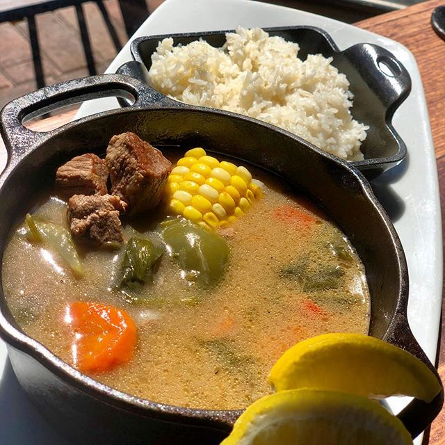 Caldo de Res 🍵 We made the perfect lunch for today🥄☺️ What's your favorite comfort food? Comment below 👇🏻 . . #CaldoDeRes #ComfortFood #LOVESOFRITO . . . . #deliciousfood #disneyworld #eatlocal #eatingfortheinsta #foodie #foodstagram #fresh #homemadefood #hungry #instafood #instafoodie #latinfood #mmm #nomnomnom #orlando #tasty #yummyfood