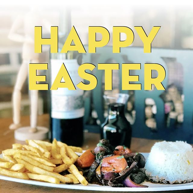 HAPPY EASTER! 🎉🐰💐⠀ .⠀ From our family to yours, we'd like to wish you a happy holiday. We'll be open regular hours today, so bring in your family and friends for delicious home cooked meals, refreshing drinks, and great company.⠀ .⠀ #Celebrate #HappyEaster #LOVESOFRITO