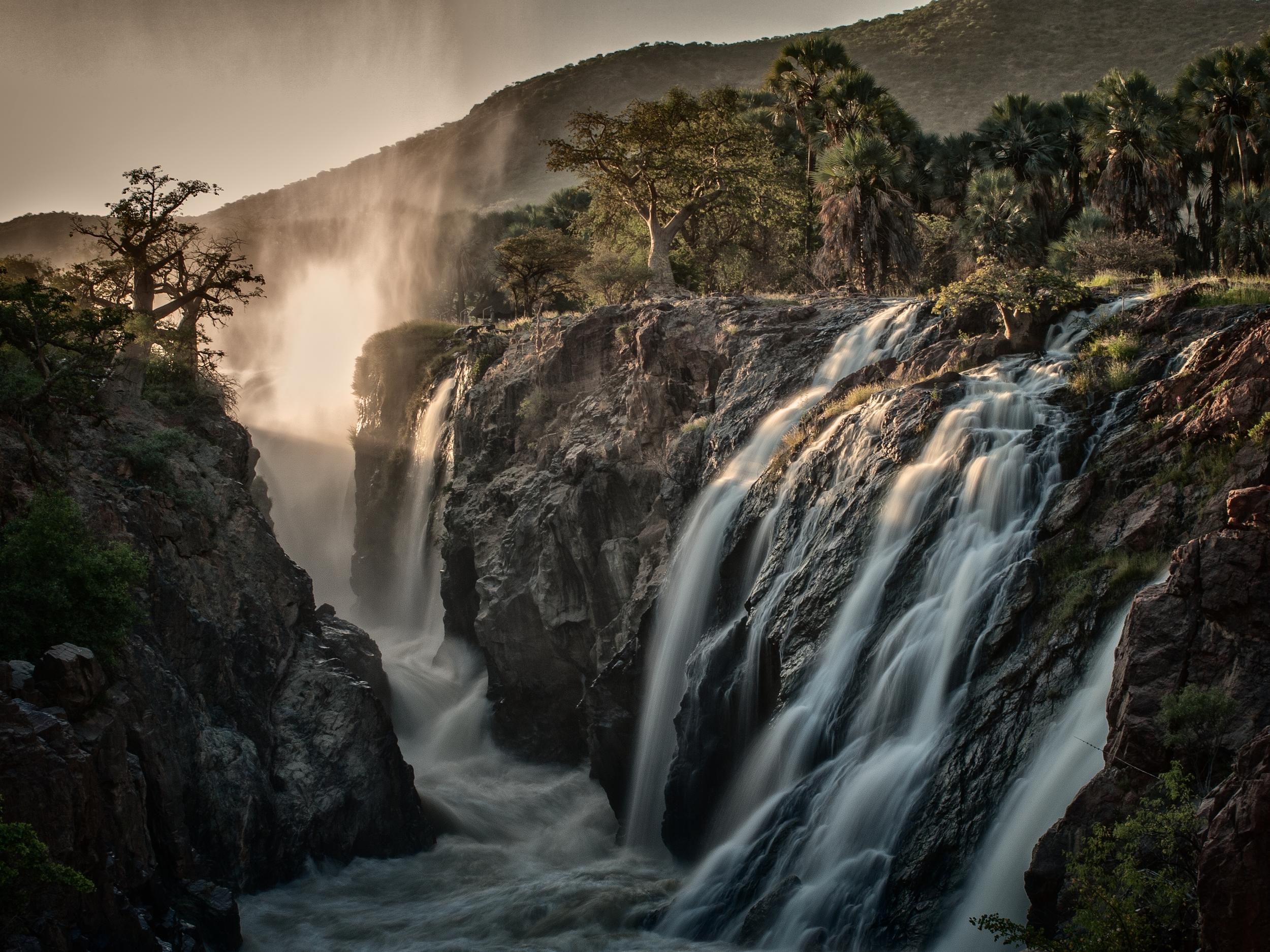 sacred waterfalls