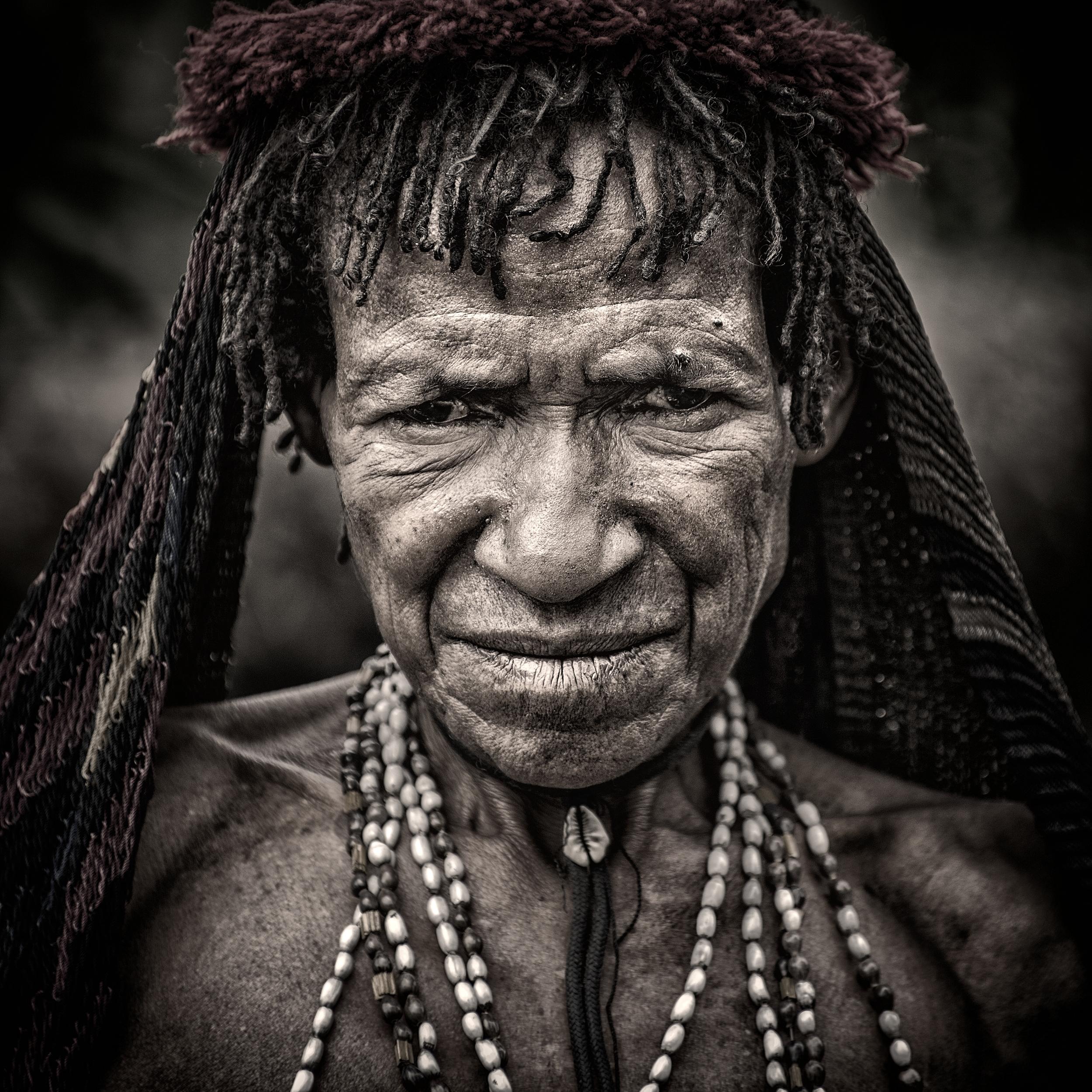 woman from dani tribe
