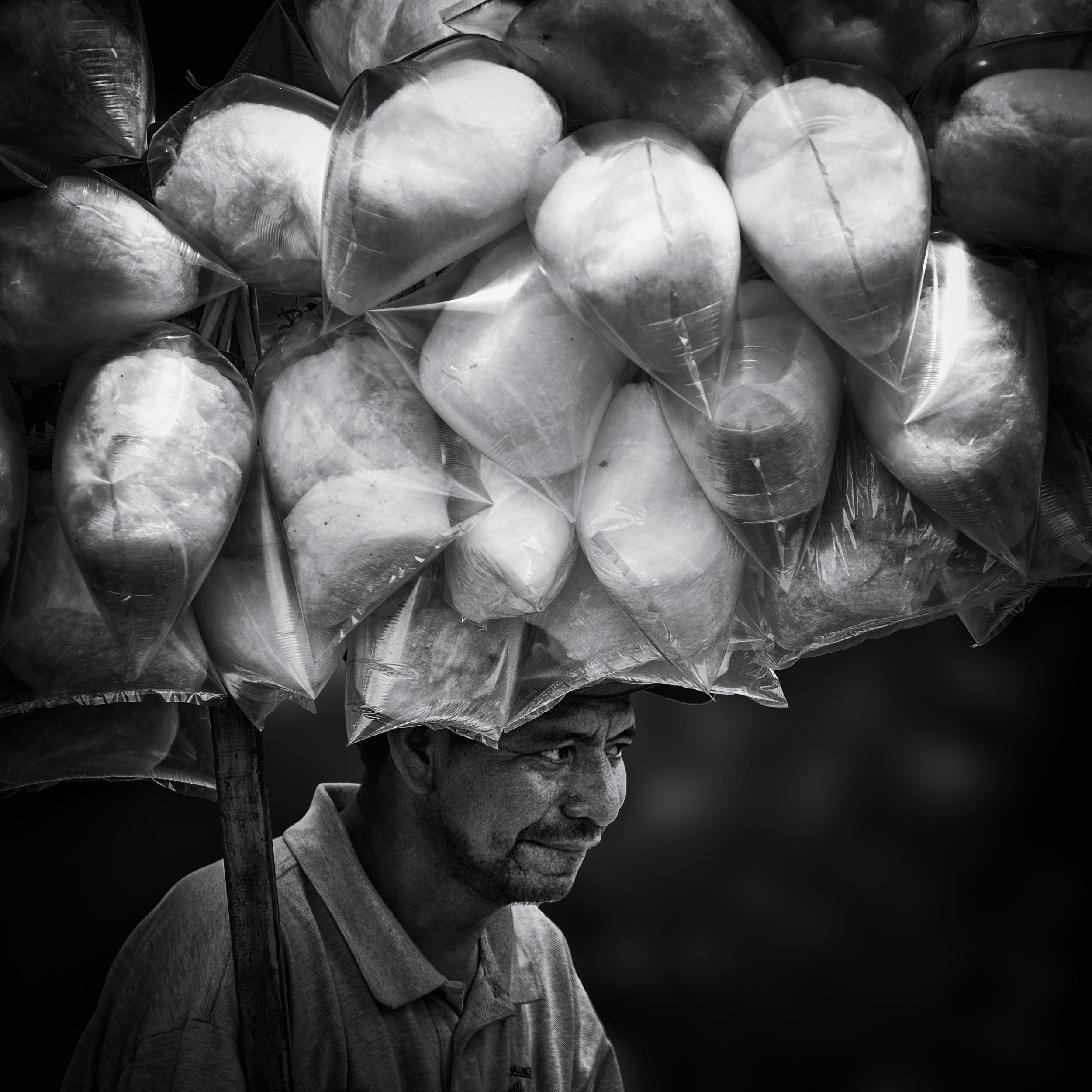 cotton candy salesman
