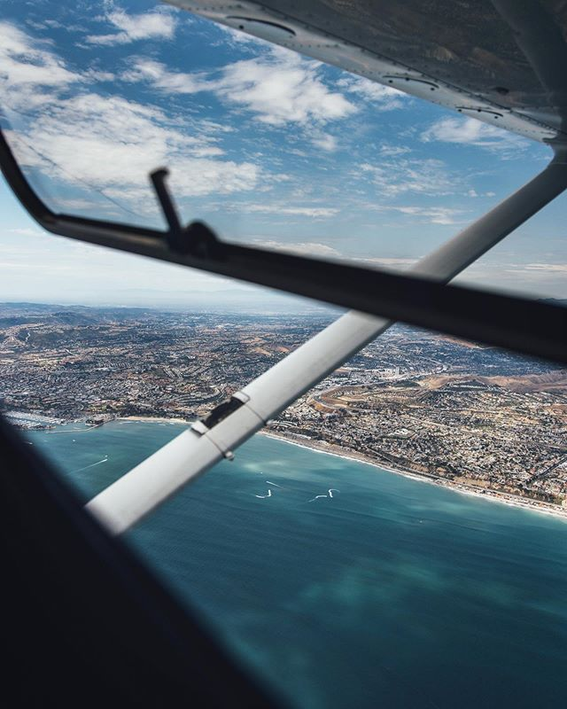 Great flying conditions over Dana Point, Ca
