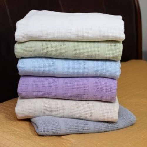 Stevens 100% Cotton Thermal Blankets
