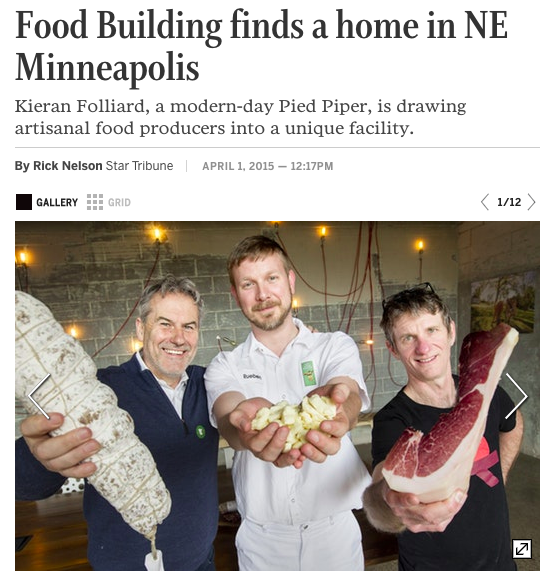 Star Tribune: FOOD BUILDING finds a home in NE Minneapolis