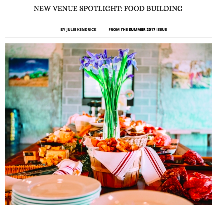 MN Meetings & Events: New Venue Spotlight: FOOD BUILDING