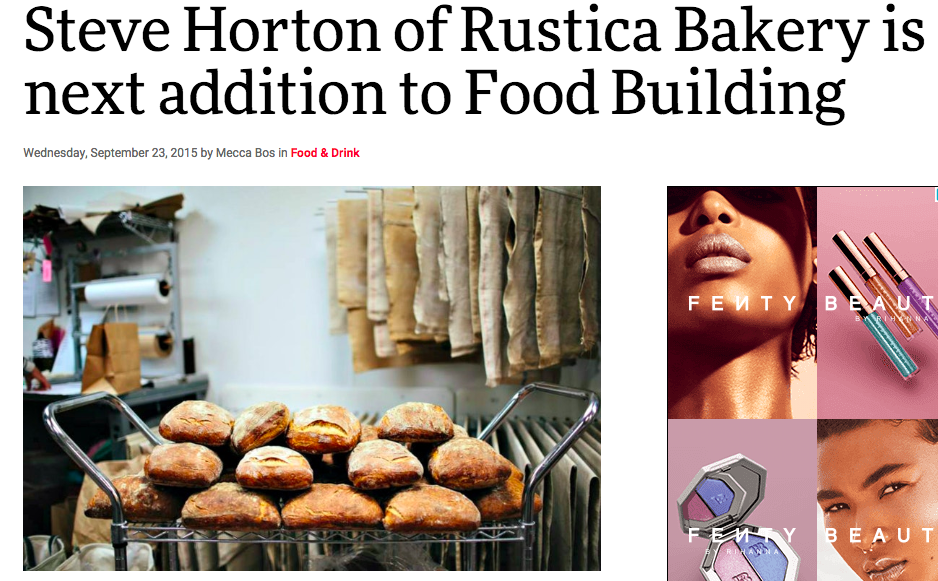 City Pages: Steve Horton of Rustica Bakery