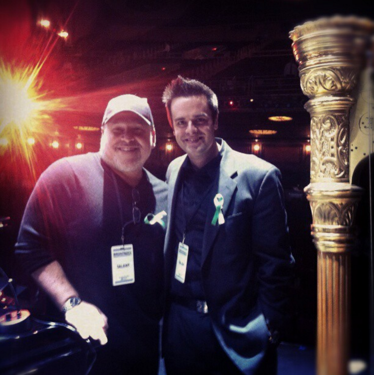 Michael J Moritz Jr and Frank Wildhorn