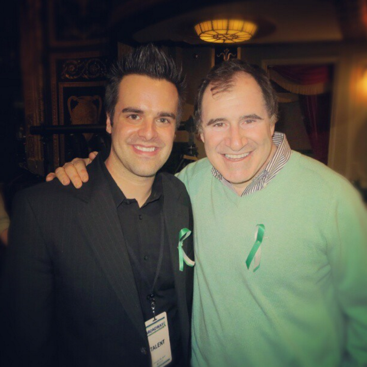 Michael J Moritz Jr with Richard Kind