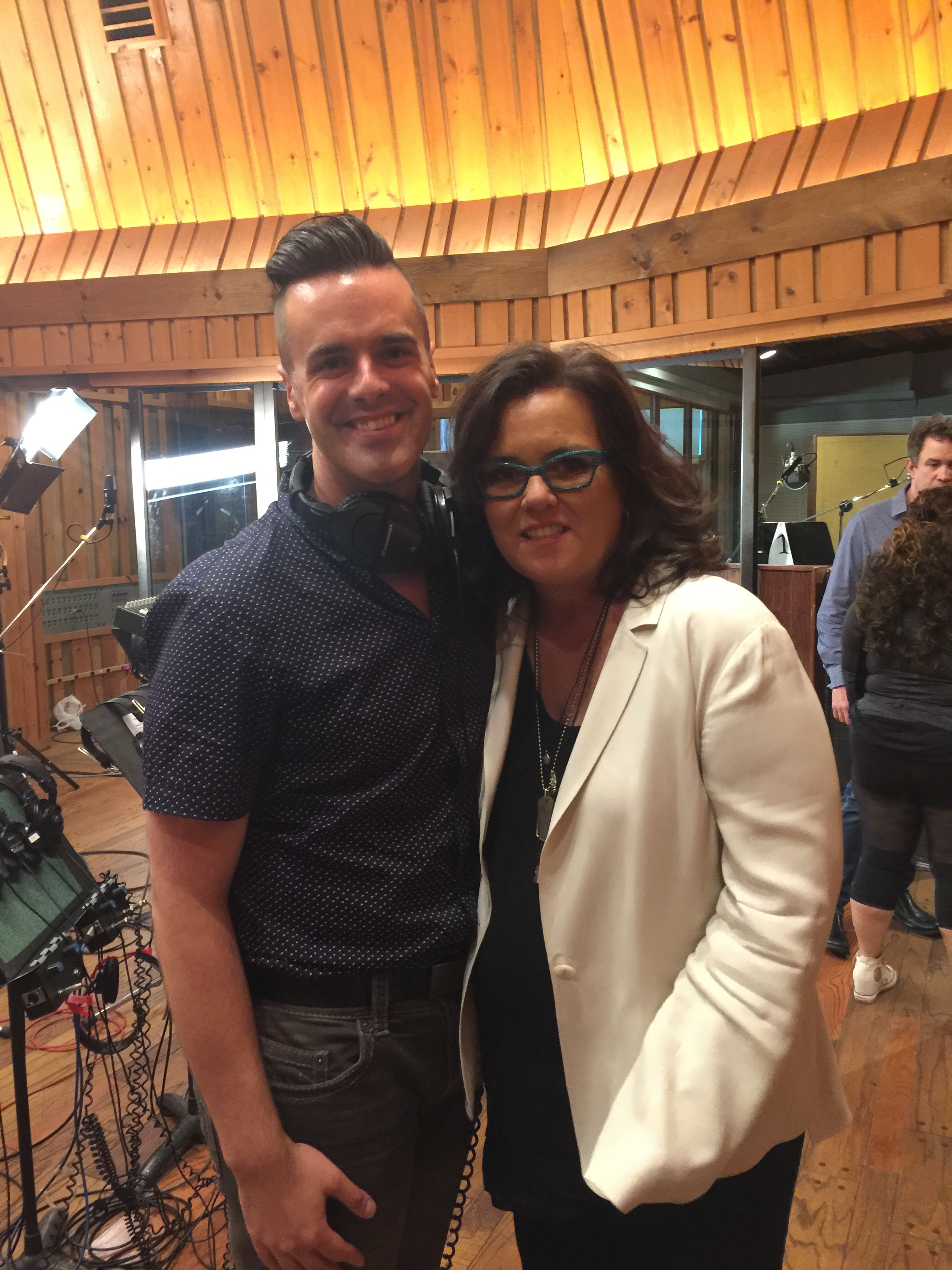 Michael J Moritz Jr and Rosie O'Donnell