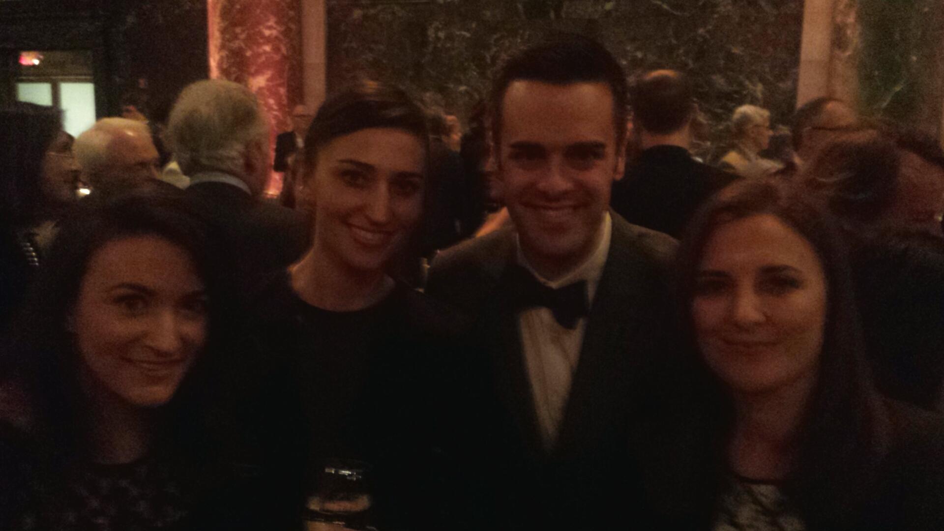 Michael J Moritz Jr with Sara Bareilles
